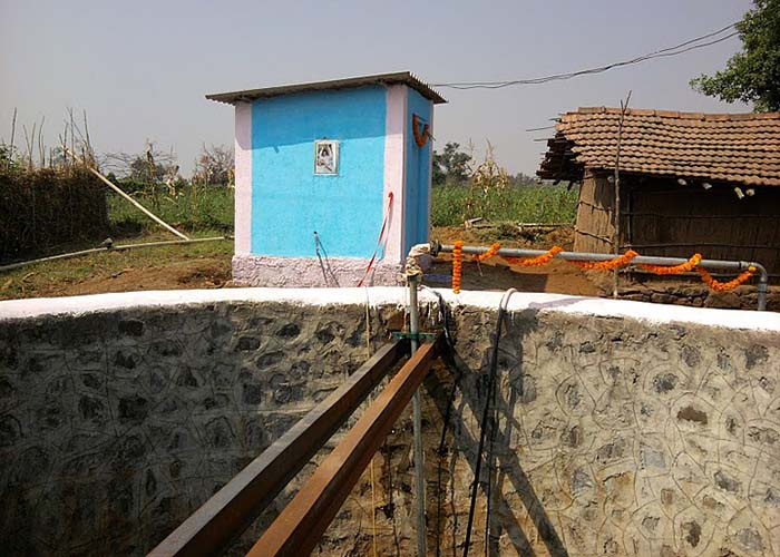 Sri Sathya Sai water project at kondiachawadi, Maharashtra and Goa