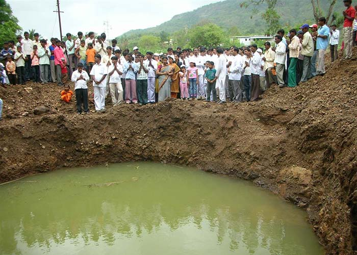 Sri Sathya Sai water project at Palasdhare, Maharashtra and Goa